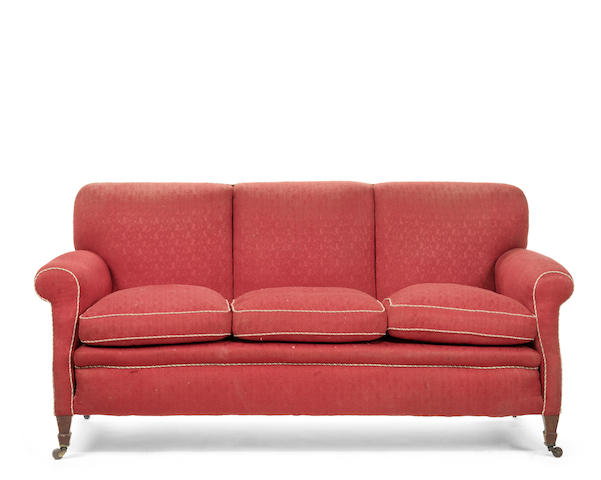 A late 19th century sofa