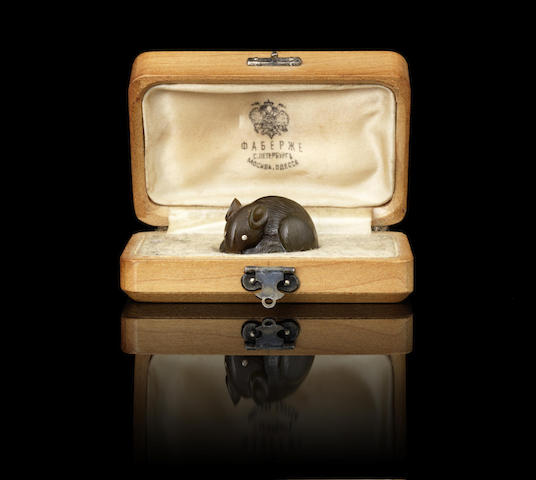 A hardstone model of a mouse