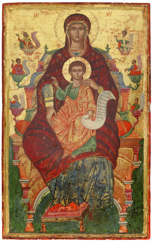 Mother of God and Child in Majesty