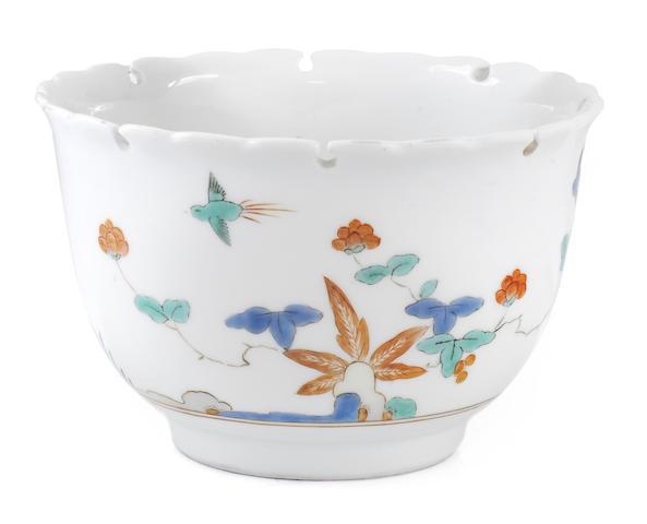 A Meissen lobed bowl