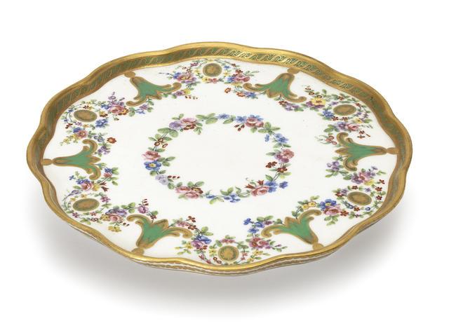 A Sèvres tray