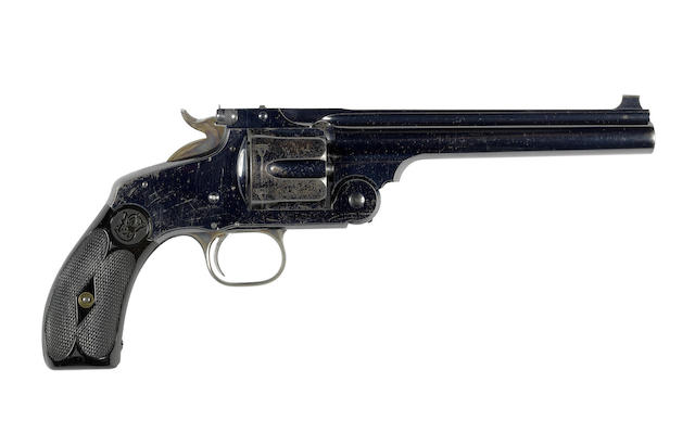 A fine .450 'New Model no. 3' revolver by Smith & Wesson, no. 27897 formerly the property of Walter Winans