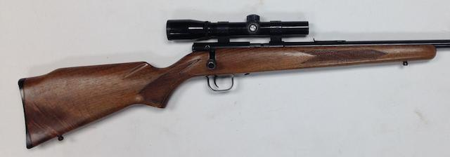 A .22(L.R.) 'Model. 320' bolt-magazine rifle by Winchester, no. D25336
