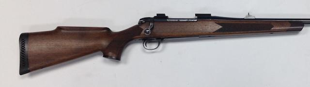 A .243(Win) bolt-magazine rifle by B.S.A., no. 11R3941