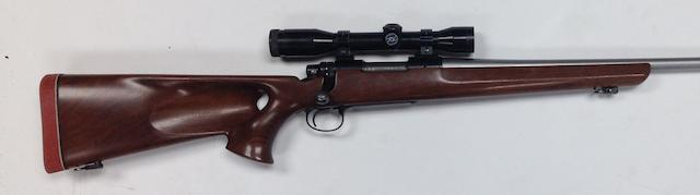 A customized .243(Win) 'Model 700' bolt-magazine rifle by Remington, no. A6702792