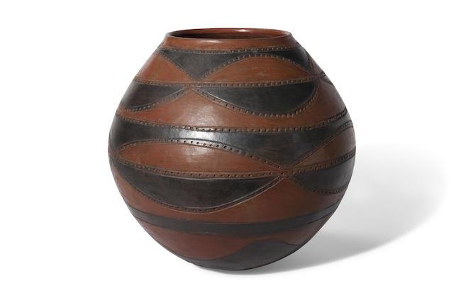 Very Fine Lozi Bowl, Zambia