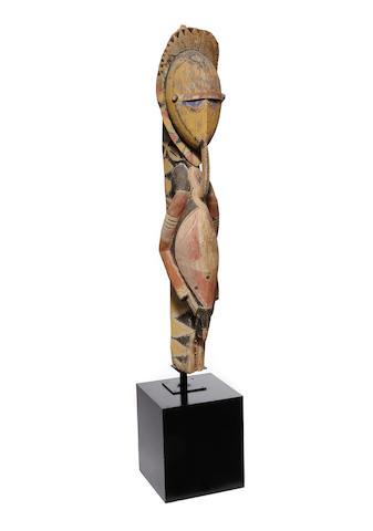 Large Abelam Male Ancestral Figure, probably Kalabu Village, East Sepik Province, Papua New Guinea