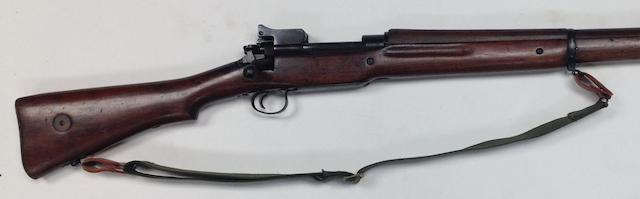 A .30-06 'M1917' bolt-magazine rifle by Remington, no. 532281
