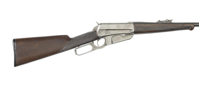 A .30-40(Krag) US 'Second Model 1895' lever-action rifle by Winchester, no. 32280