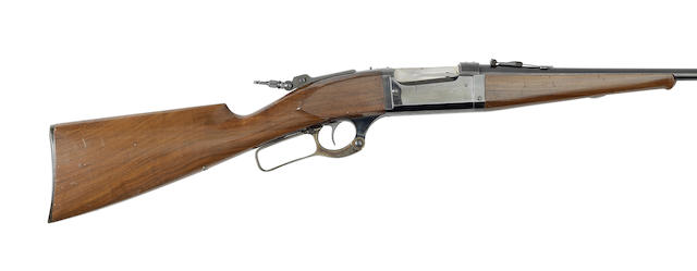 A .22(H.P.) 'Model 1899' take-down lever-action rifle by Savage, no. 155583