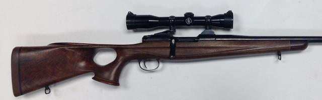 A customized .308(Win) Mannlicher-Schoenaur by Steyr, no. 7800