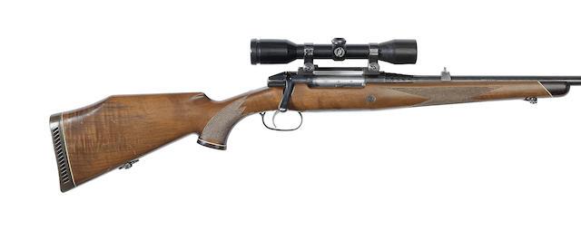 A .270(Win) Mannlicher-Schoenauer 'M72' bolt-magazine rifle by Steyr, no. 3800