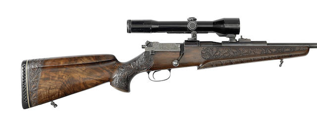 A 7mm(Rem. Mag.): .375(H&H Mag.) 'Model 66' sporting rifle by Mauser, no. G26890 - SG35981