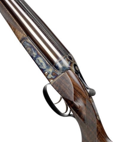 A .470 boxlock non-ejector rifle by J. Rigby & Co., no. 17494