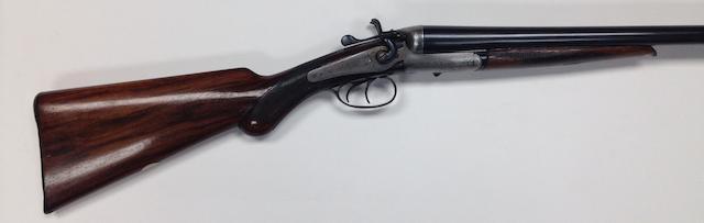 A 12-bore hammer gun by Midland Gun Co., no 110399