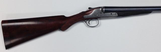 A 12-bore 'Colonial Quality' backlock hammer gun by Charles lancaster, no. 6667