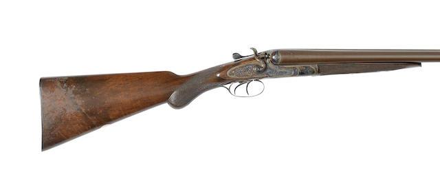 A 12-bore sidelock wild-fowling hammer gun by Midland Gun Co., no. 59021