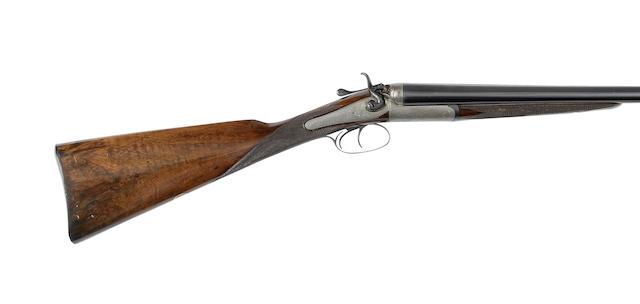 A 12-bore hammer gun by Holland & Holland, no. 11186