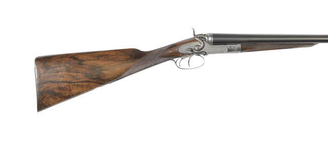 A 12-bore sidelever sidelock hammer gun by Stephen Grant, no. 4738