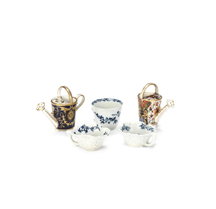 A group of English porcelain