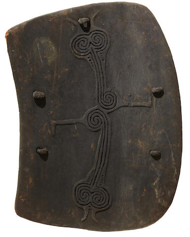 Fine War Shield, Lumi, West Sepik Province, Papua New Guinea