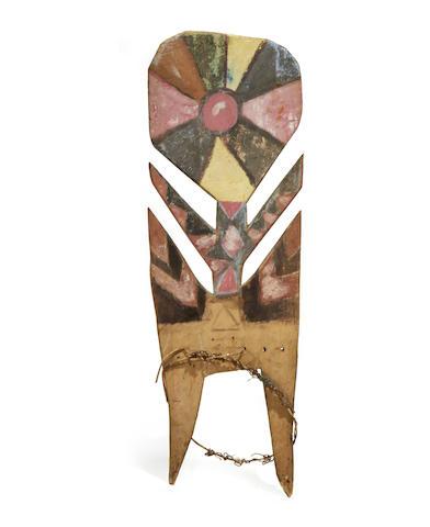 Fine and Rare Ritual Board, Siane People, Eastern Highlands, Papua New Guinea
