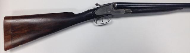 A 12-bore backlock non-ejector gun by T. Bland, no. 14623