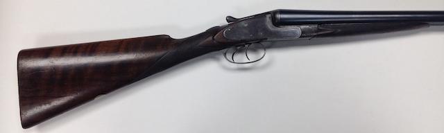 A 12-bore sidelock non-ejector gun by Webley & Scott, no. 75521