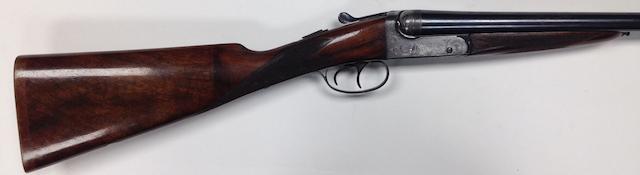 A 12-bore boxlock ejector gun by B.S.A., no. 50761