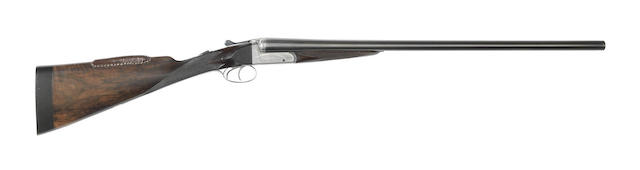 A 12-bore boxlock ejector gun by F. Turvey, no. TH14239