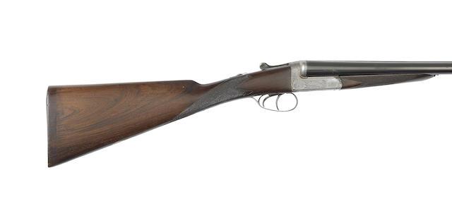 A 12-bore 'Utility Model' easy-opening boxlock ejector gun by E.J. Churchill, no. 6196