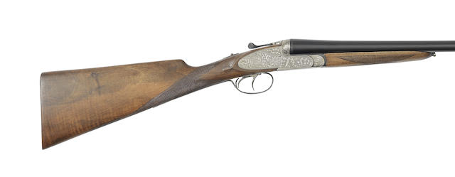 A 12-bore sidelock ejector gun by Le Personne, no. 54045