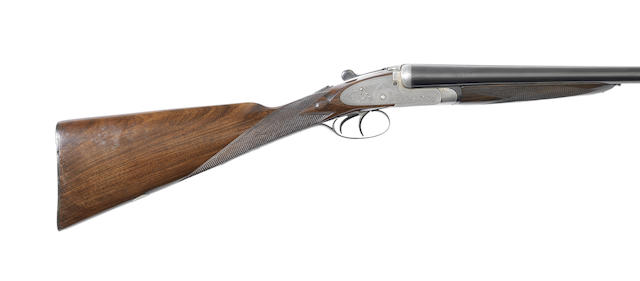 A 12-bore sidelock ejector gun by W. Richards, no. 10050