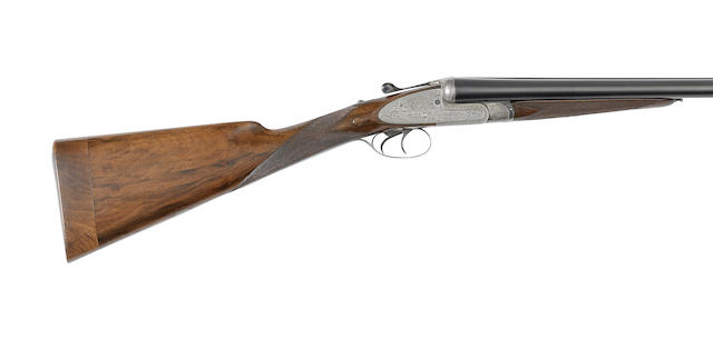 A 12-bore 'Field Model' sidelock ejector gun by E. J. Churchill, no. 2658