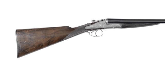 A 12-bore 'no. 3 model' backlock ejector gun by Holland & Holland, no. 20241