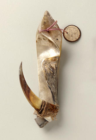 Large and Rare Fishing Lure, Marshall Islands