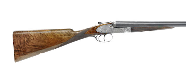 A 12-bore self-opening sidelock ejector gun by J. Purdey, no. 19275