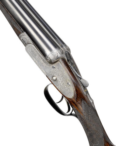 A 12-bore 'The Automatic' sidelock ejector gun by J. Woodward, no. 5218