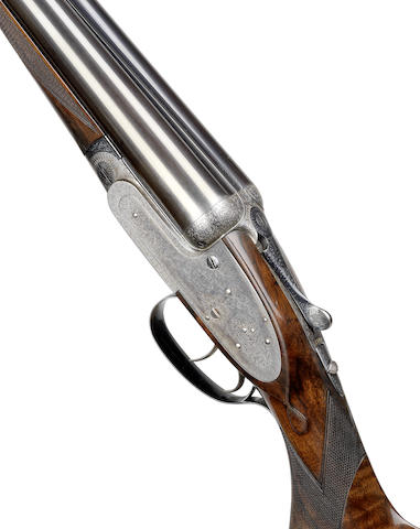A 12-bore self-opening sidelock ejector gun by J. Purdey, no. 24110