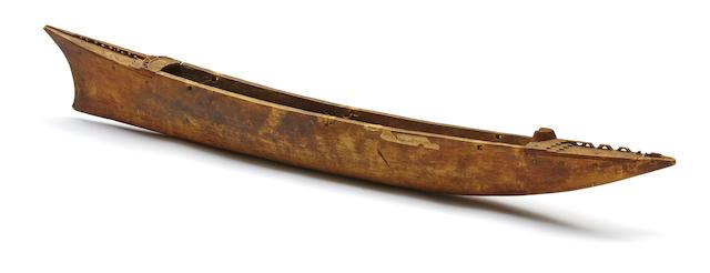 Model Canoe, Samoa Islands