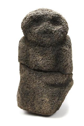 Rare Effigy Figure, Tahiti