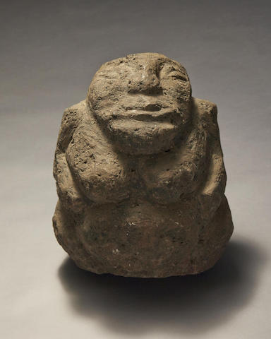 Important and Rare Effigy Figure, Rapa Iti, Austral Islands