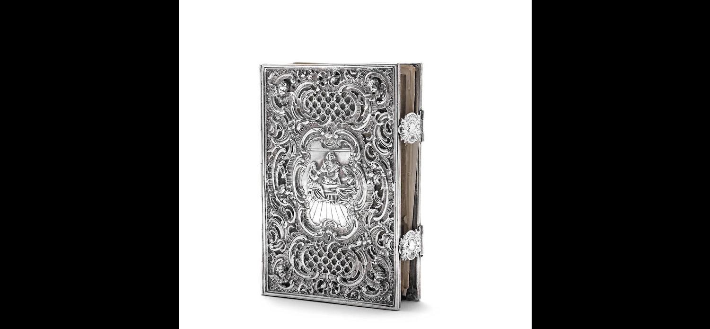 A Victorian silver-mounted Common Prayer Book