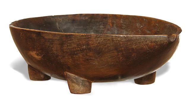 Fine Ceremonial Bowl, Cook Islands