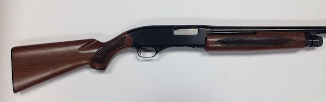 A 12-bore 'Model 1200' pump-action gun by Winchester, no. L1177039