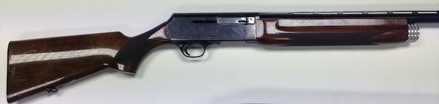 A 12-bore '2000' self-loading gun by Browning, no. 76057C57