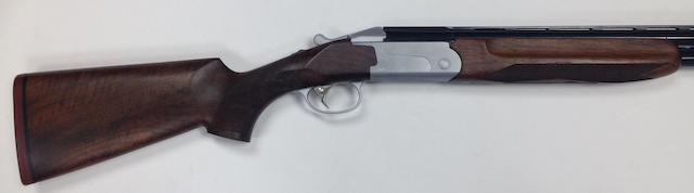 A 12-bore 'Classic 512S' single-trigger over and under ejector gun by Finn, no. T38703