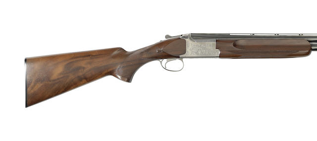 A 12-bore '3800 SK III' single-trigger over-and-under ejector gun by Miroku, no. 31302PN