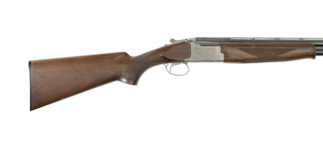 A 12-bore '7000-SP1' single-trigger over-and-under ejector gun by Miroku, no. 45180PR
