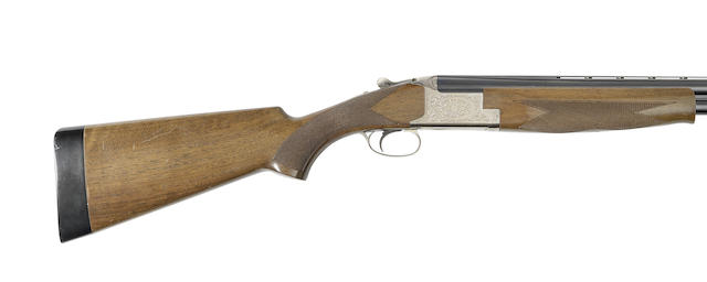 A 12-bore single-trigger over-and-under ejector gun by F.N., no L13RN02351